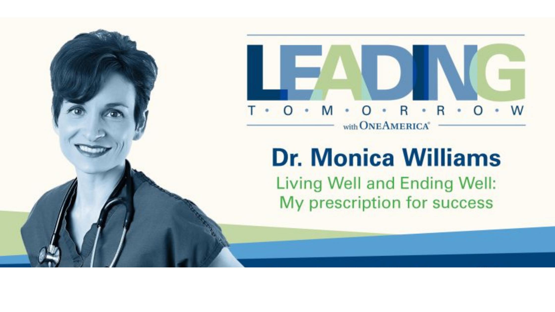 OneAmerica has Dr. Monica Williams presenting